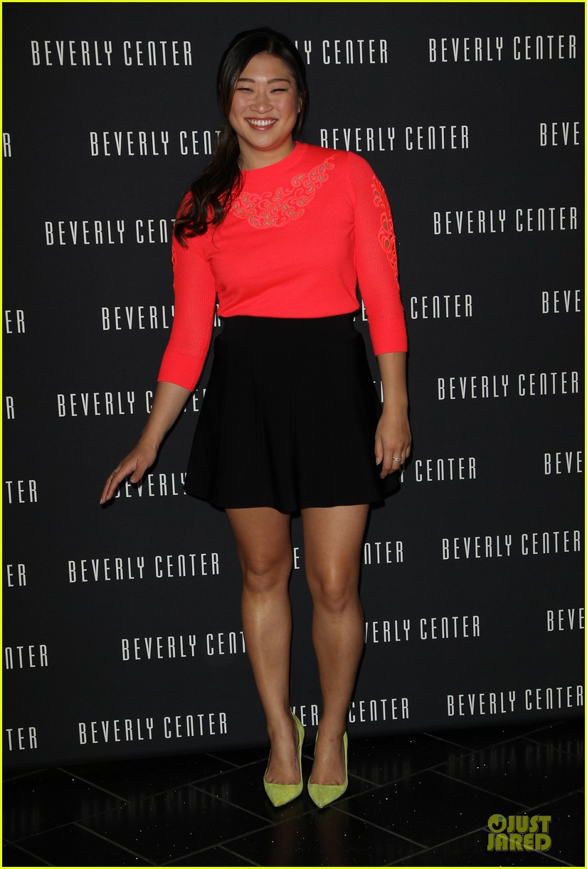 jenna ushkowitz red hot for chinese new year celebration 063047521