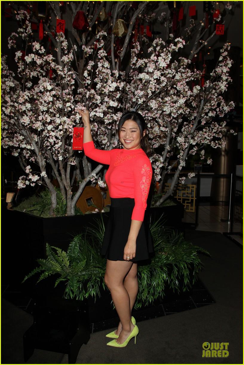 jenna ushkowitz red hot for chinese new year celebration 11