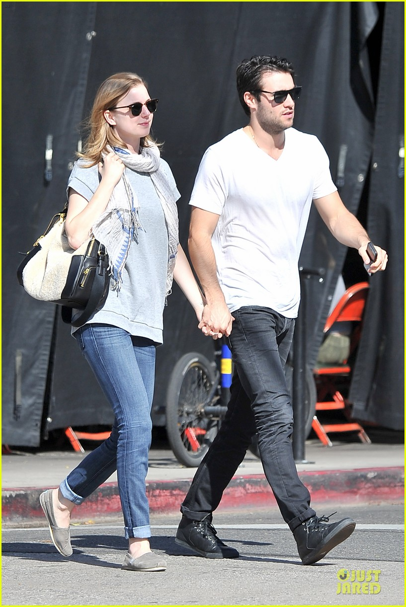 emily vancamp josh bowman hold hands before valentines day 13