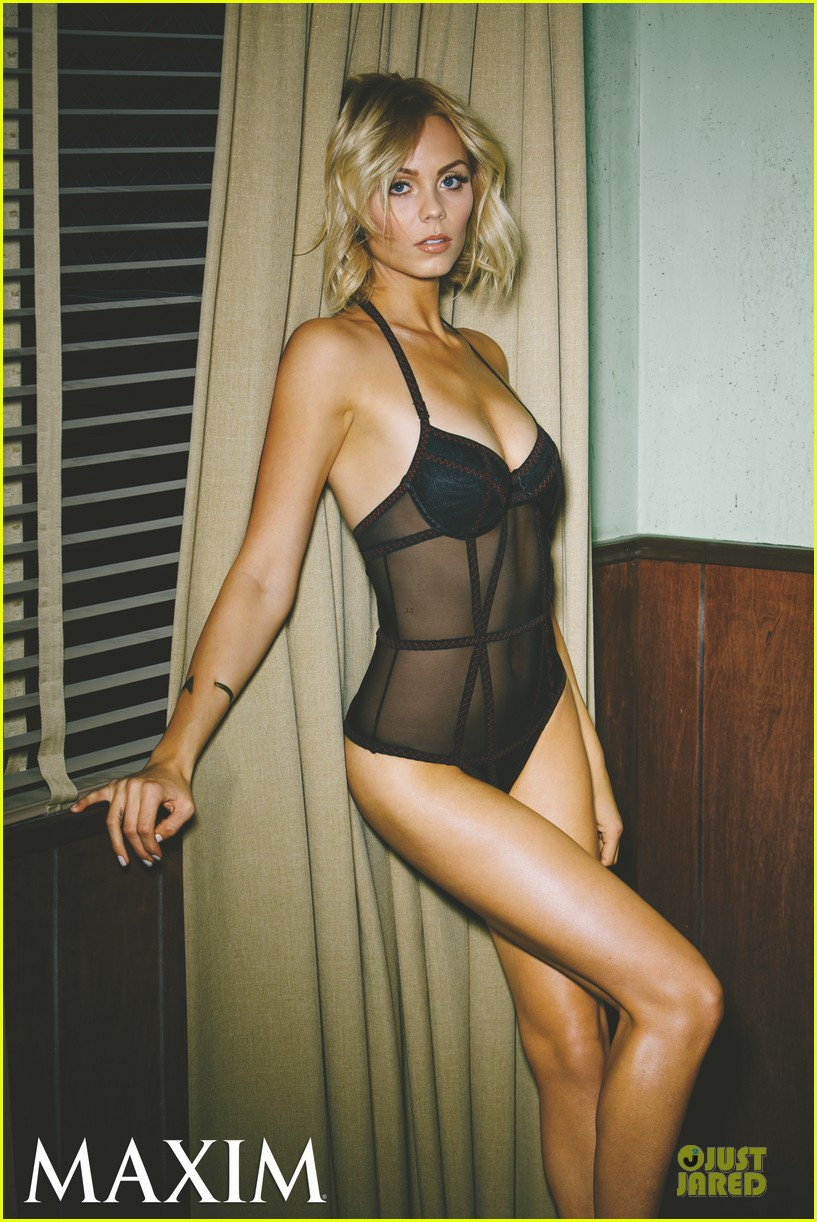 laura vandervoort sheer sexy for maxim magazine march 2014 033053944