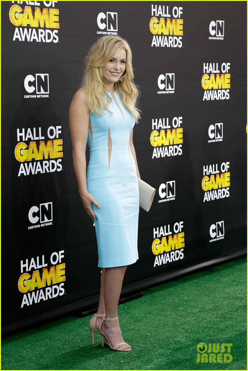 lindsey vonn colin kaepernick hall of game awards 2014 073054213
