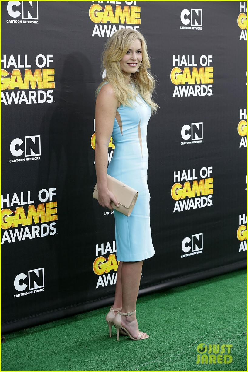 lindsey vonn colin kaepernick hall of game awards 2014 12
