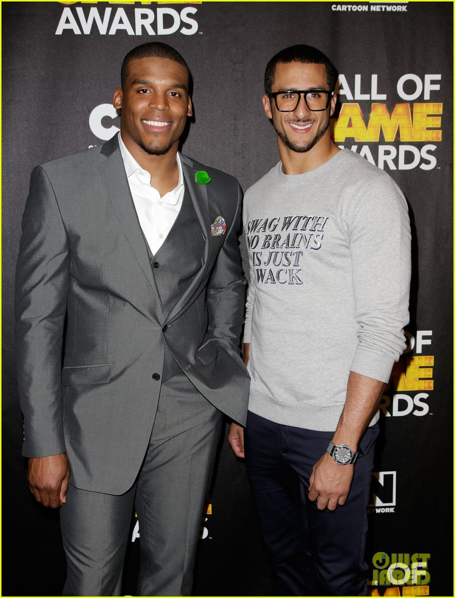lindsey vonn colin kaepernick hall of game awards 2014 163054222