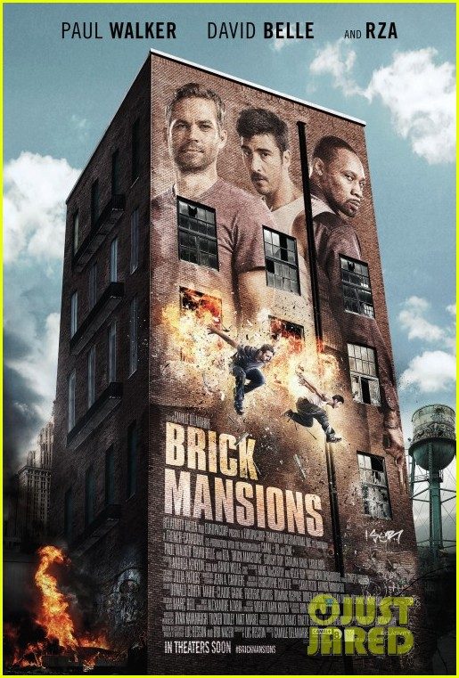 paul walker brick mansions trailer poster released 013052014