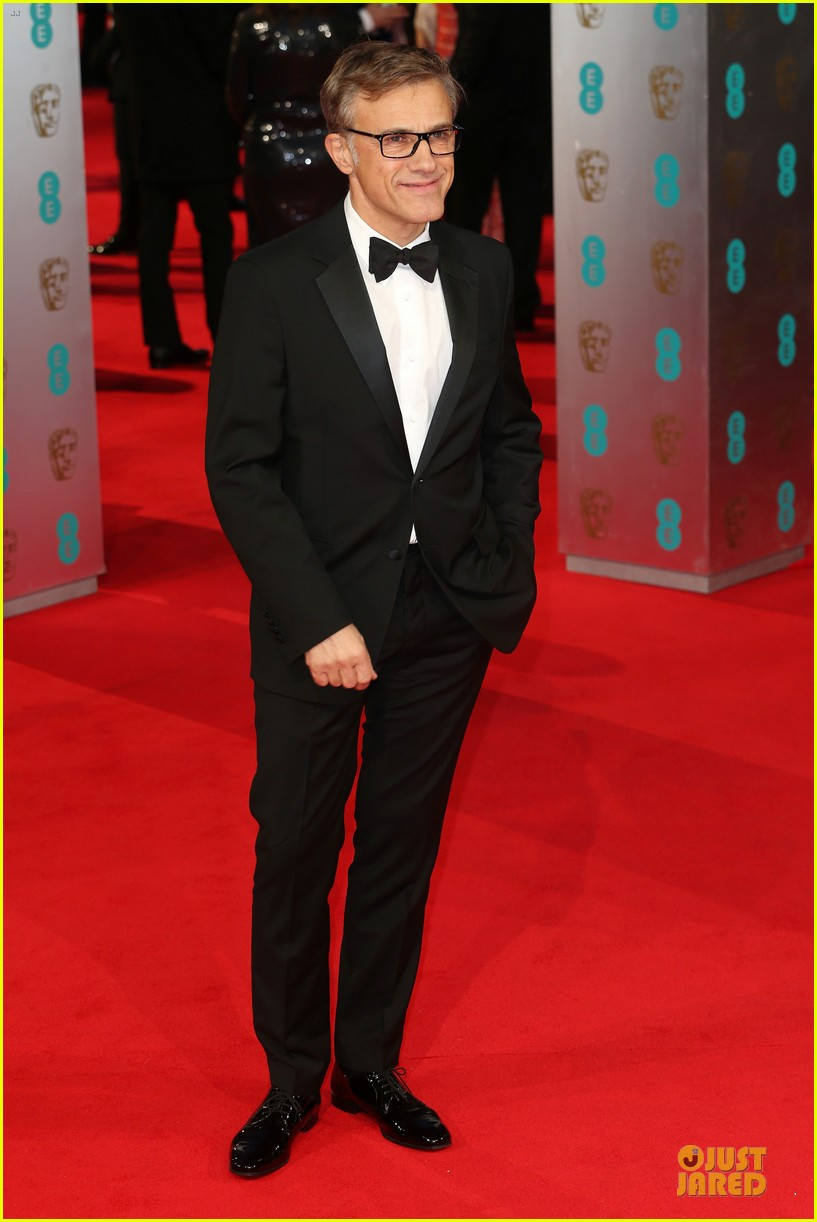 christoph waltz daniel bruhl baftas 2014 red carpet 013054610