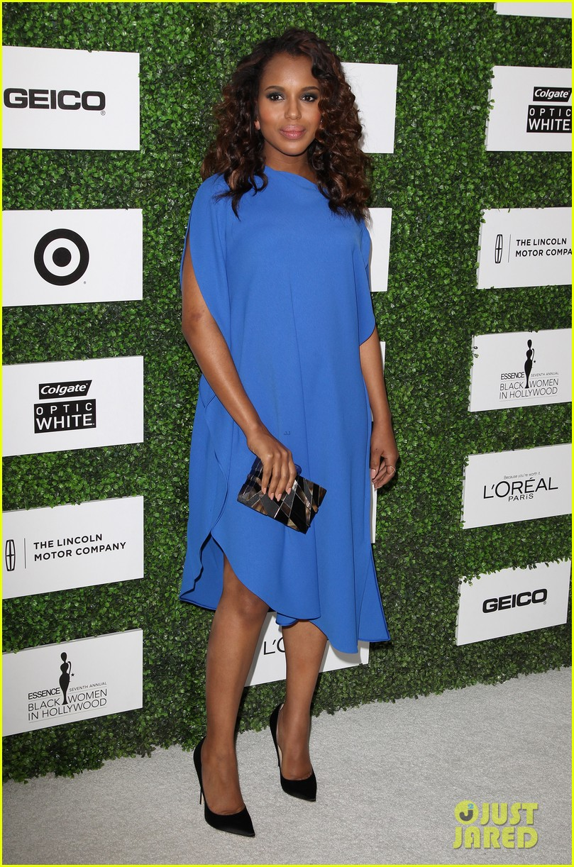 kerry washington embraces her baby bump at essence event 113061781