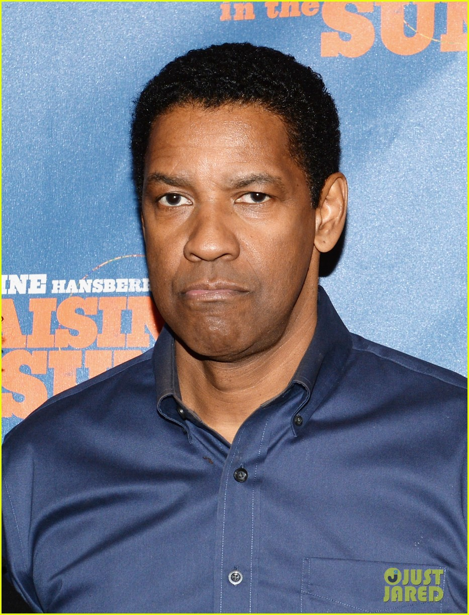 denzel washington raisin in the sun press conference 02