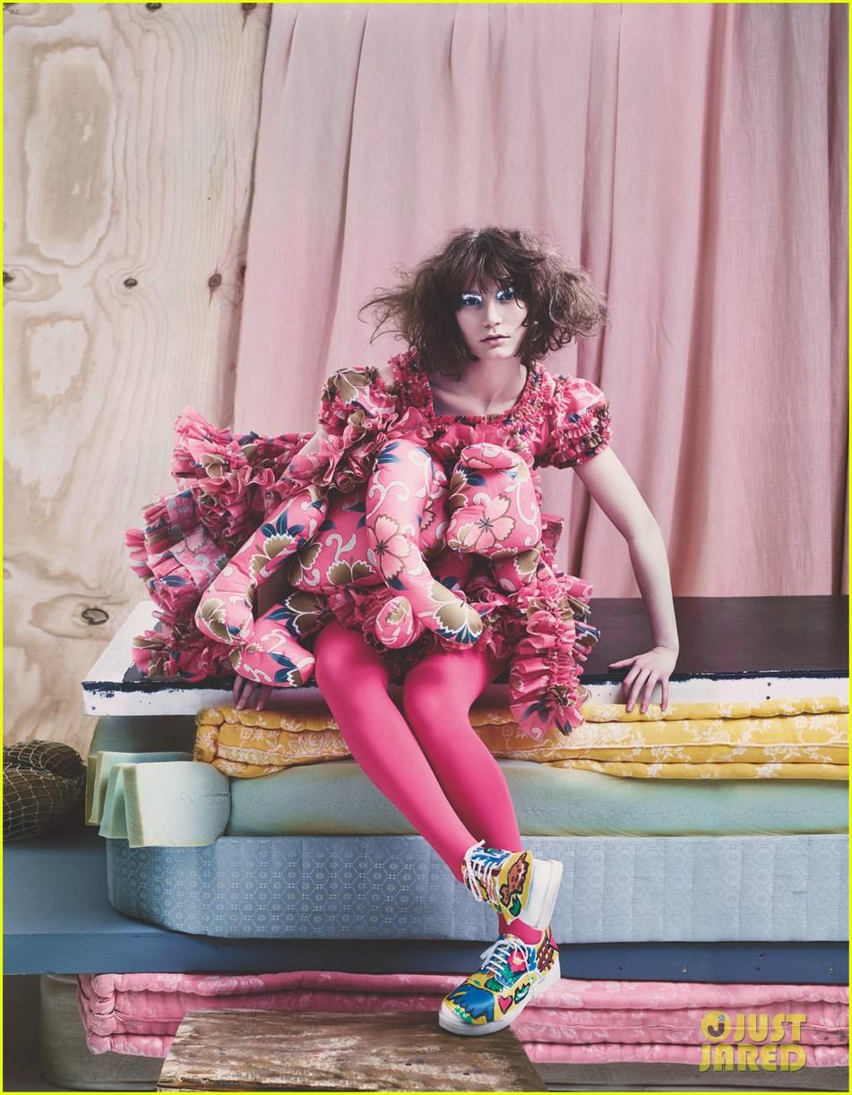mia wasikowska wears teddy bear on dress for another mag 013050675