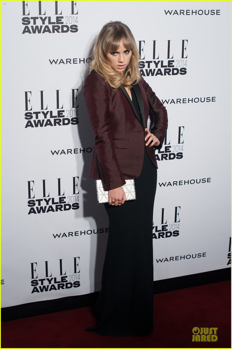 suki waterhouse cara delevingne stunning models at elle style awards 013055811