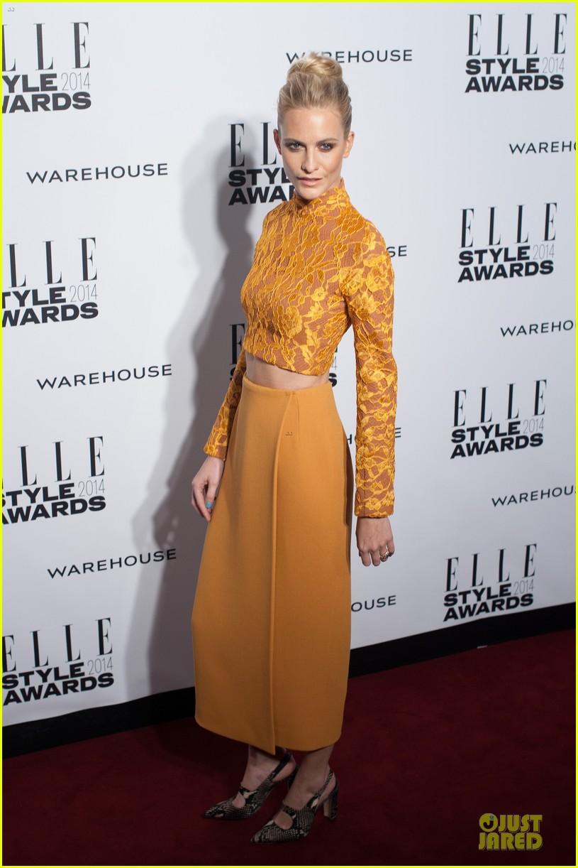 suki waterhouse cara delevingne stunning models at elle style awards 073055817