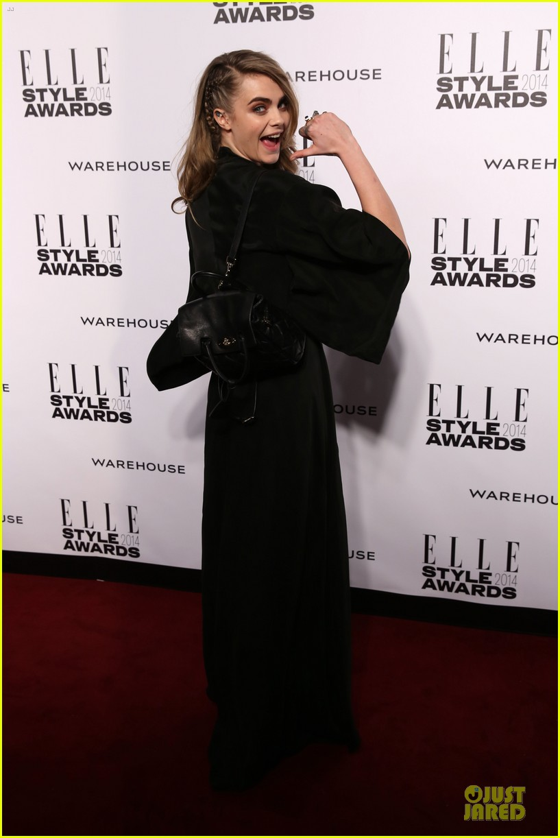 suki waterhouse cara delevingne stunning models at elle style awards 083055818