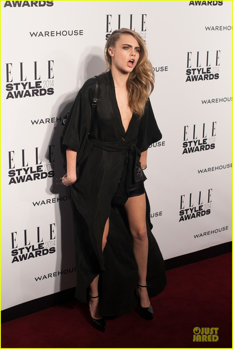 suki waterhouse cara delevingne stunning models at elle style awards 103055820