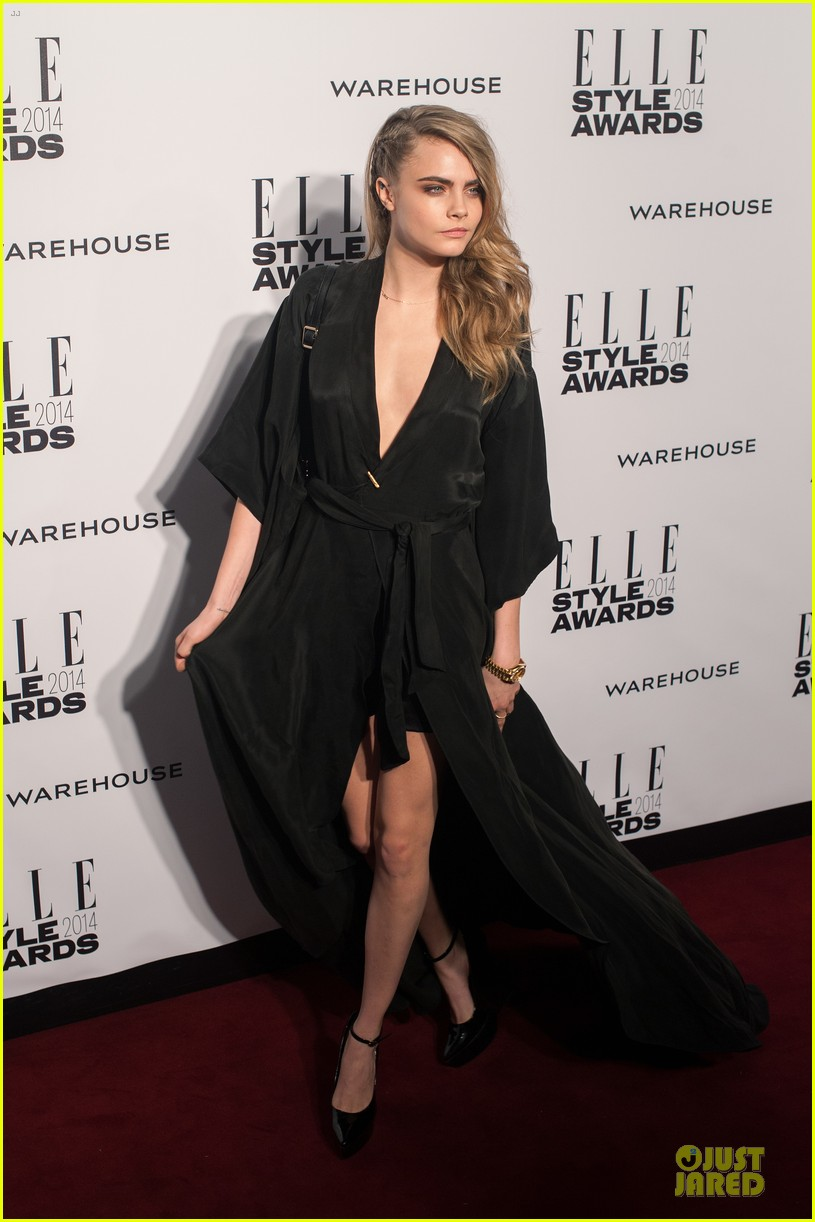 suki waterhouse cara delevingne stunning models at elle style awards 113055821