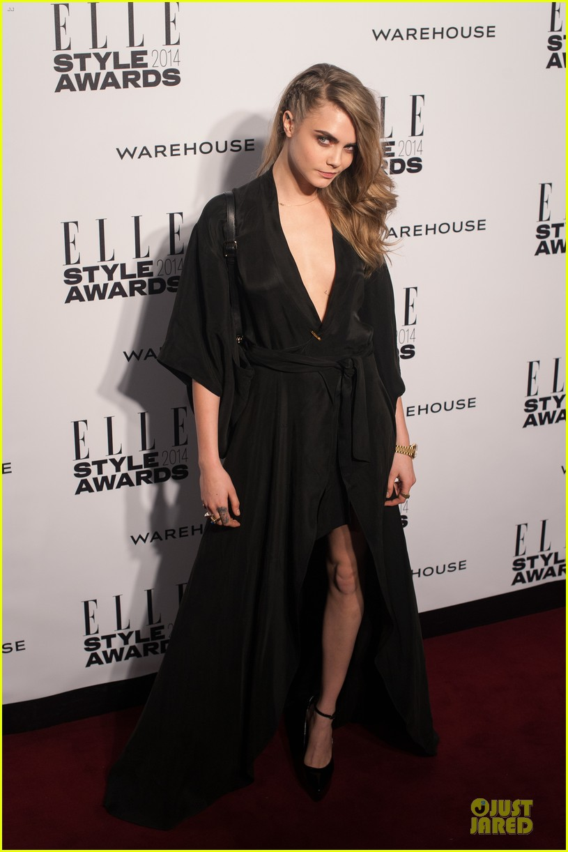 suki waterhouse cara delevingne stunning models at elle style awards 123055822