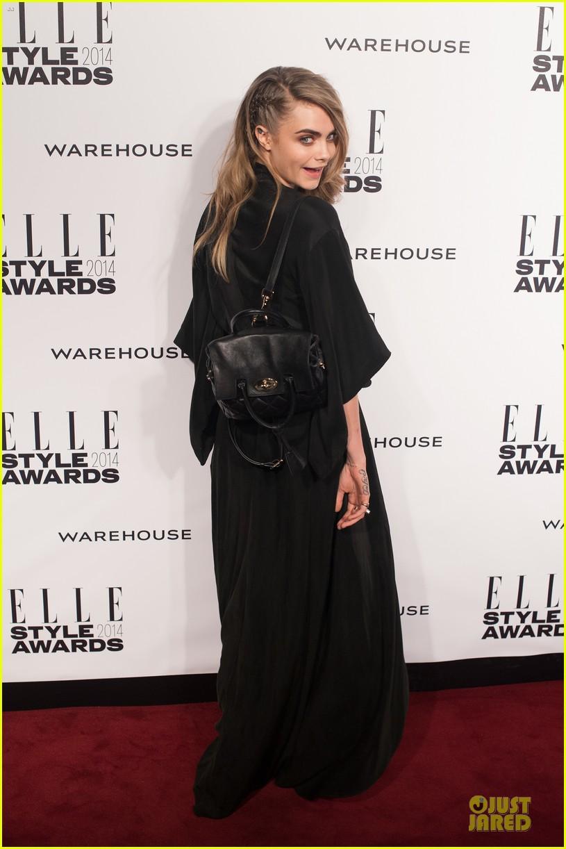 suki waterhouse cara delevingne stunning models at elle style awards 133055823