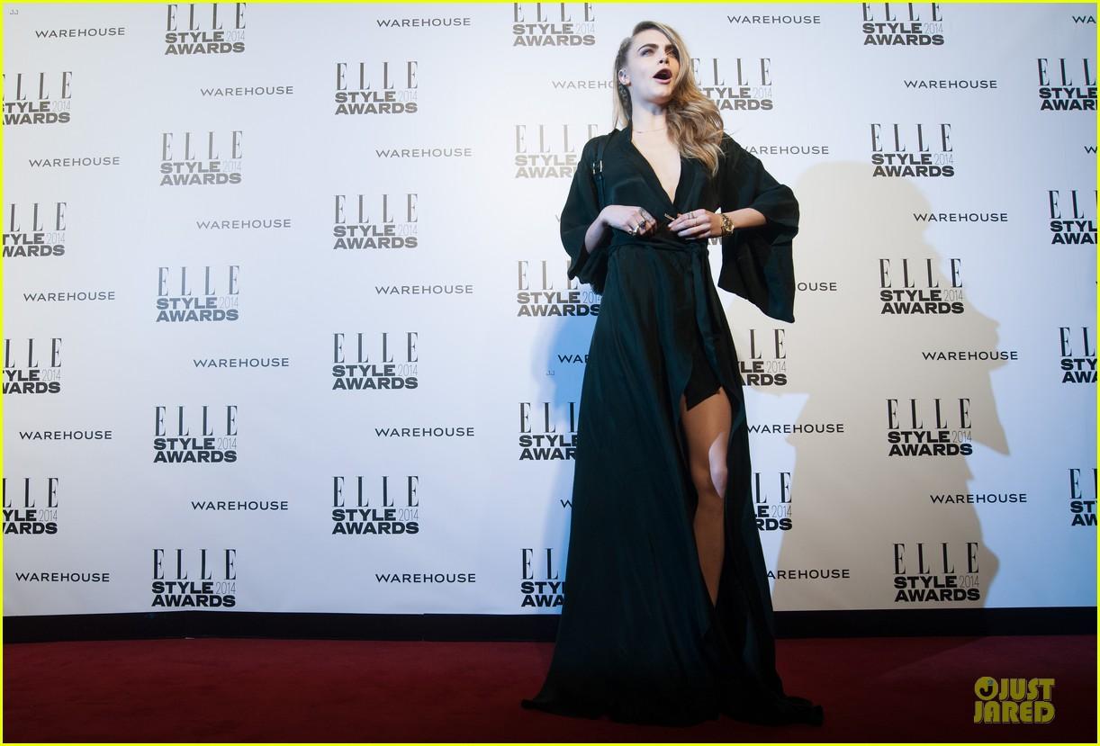 suki waterhouse cara delevingne stunning models at elle style awards 213055831