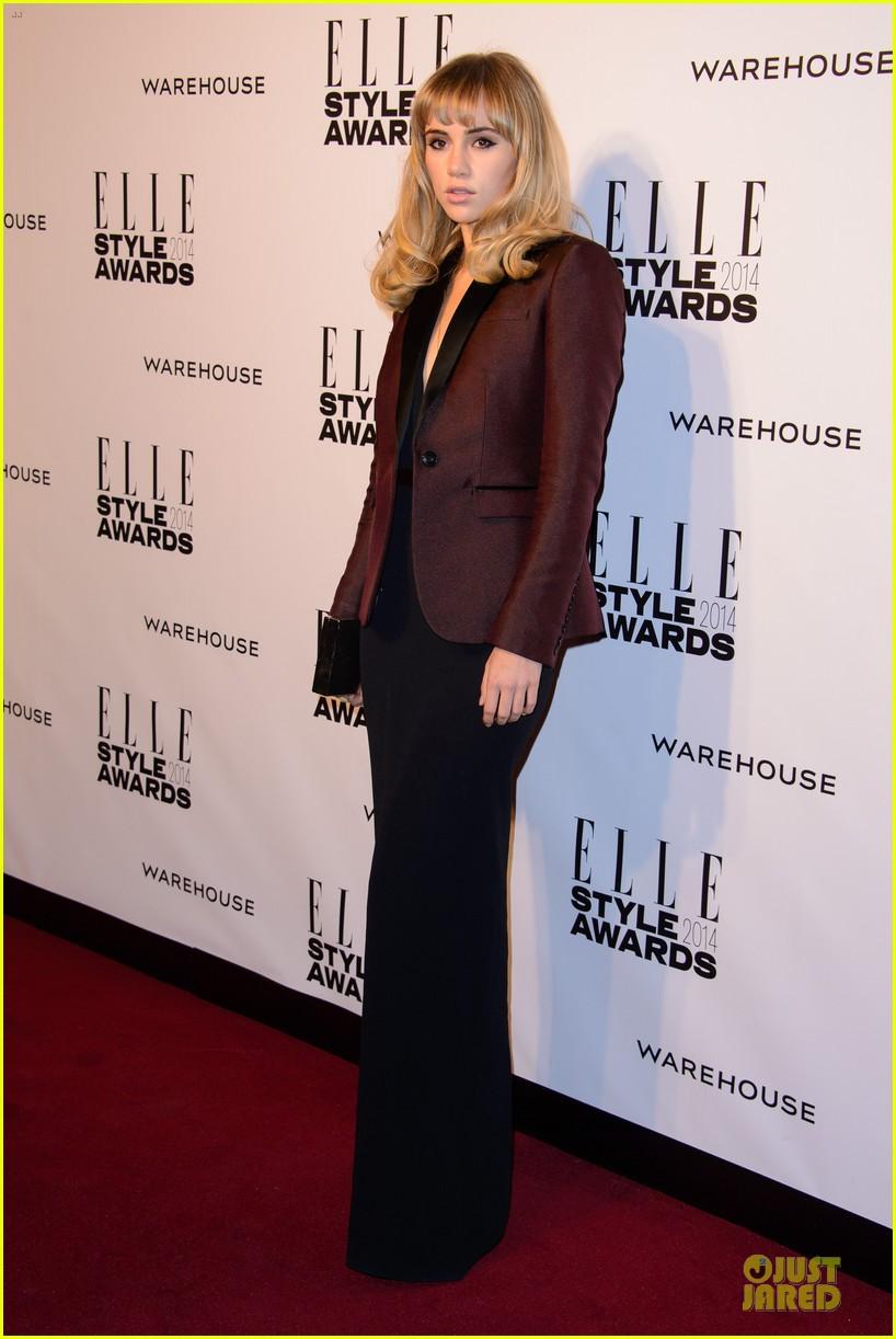 suki waterhouse cara delevingne stunning models at elle style awards 243055834