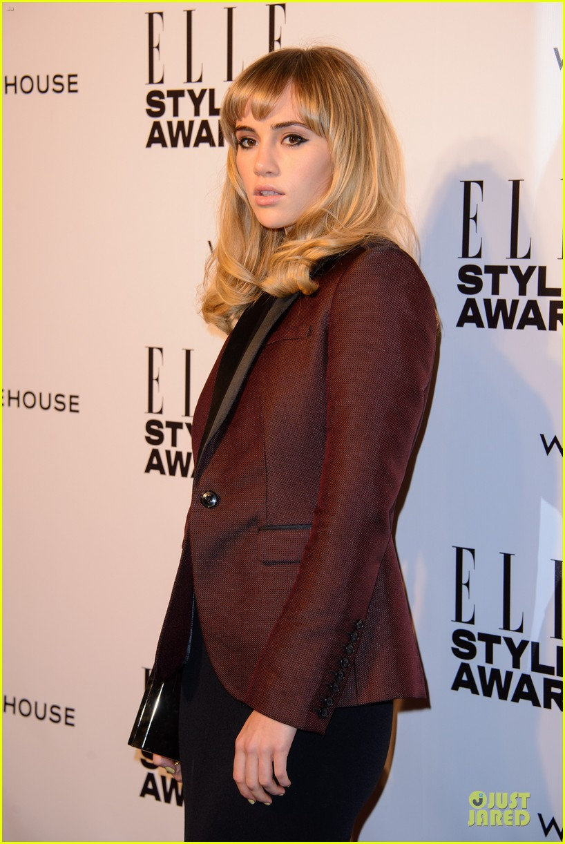 suki waterhouse cara delevingne stunning models at elle style awards 263055836