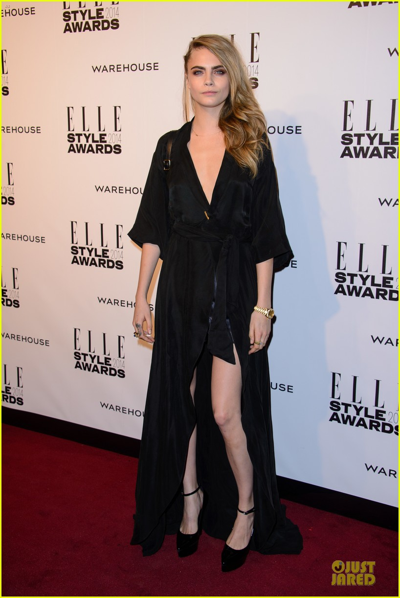 suki waterhouse cara delevingne stunning models at elle style awards 273055837