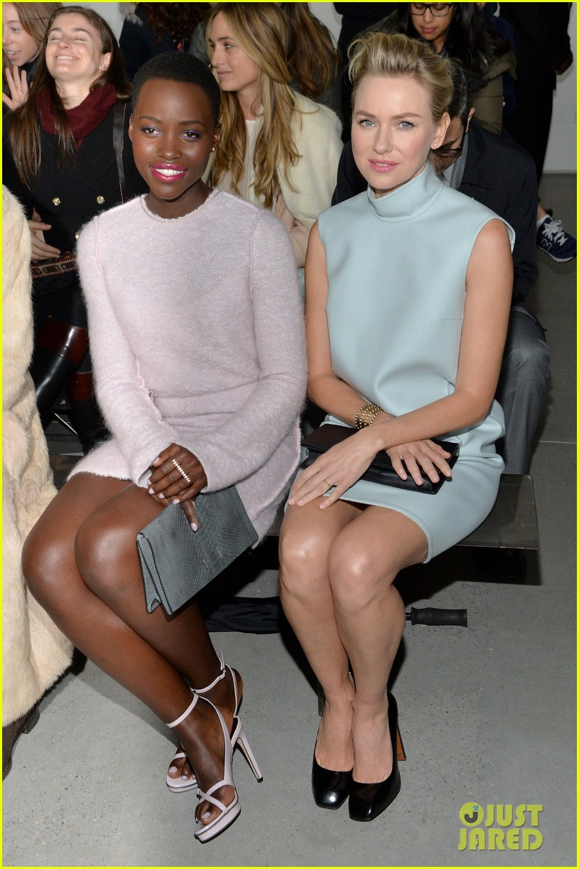 naomi watts lupita nyongo are classy gorgeous at calvin klein fashion show 023052895