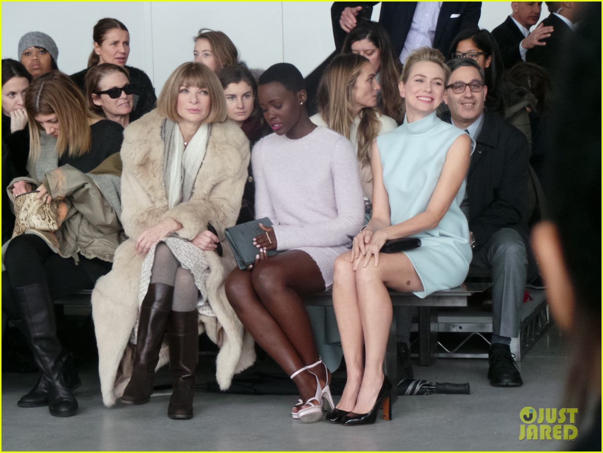 naomi watts lupita nyongo are classy gorgeous at calvin klein fashion show 063052899