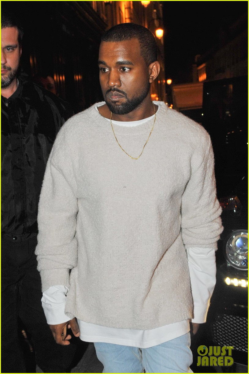 kanye west roams around paris while kendall jenner flies in 023061453
