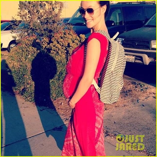 olivia wilde just nine weeks left in her pregnancy 023060292