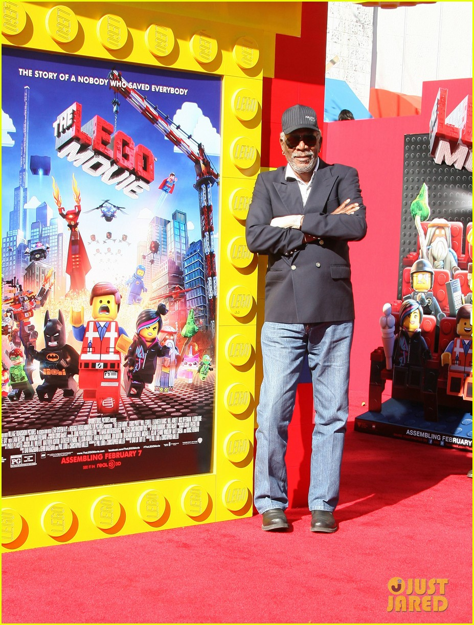 elizabeth banks will ferrell the lego movie premiere 113045736