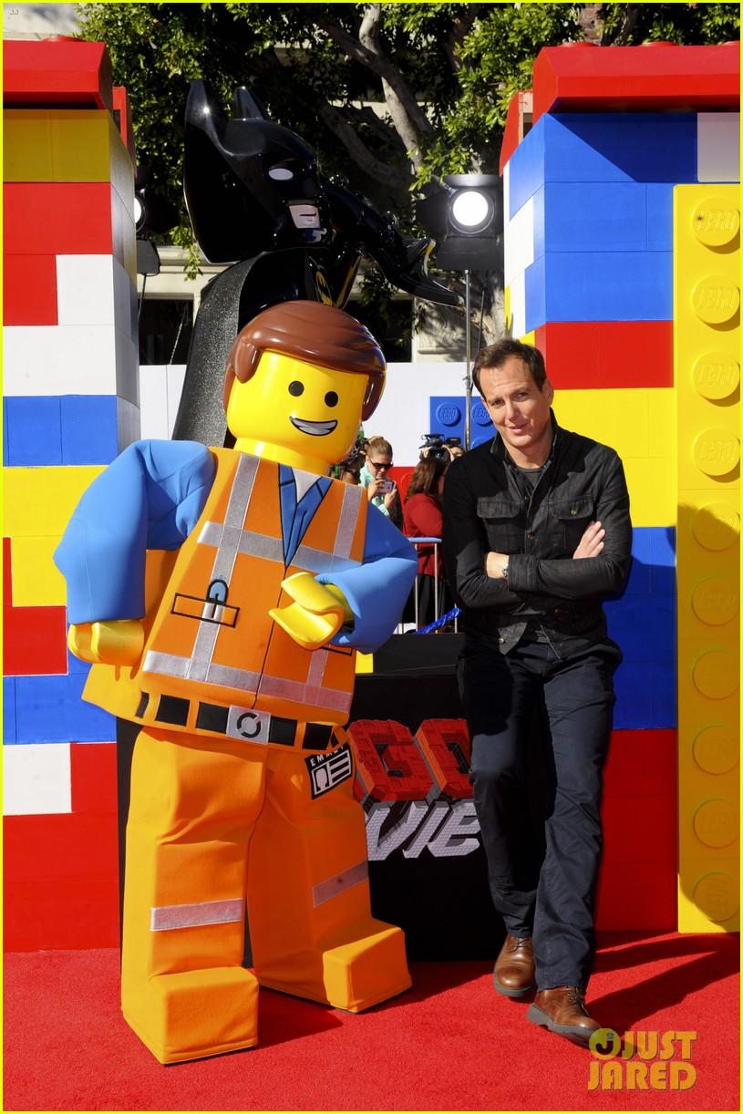 elizabeth banks will ferrell the lego movie premiere 233045748