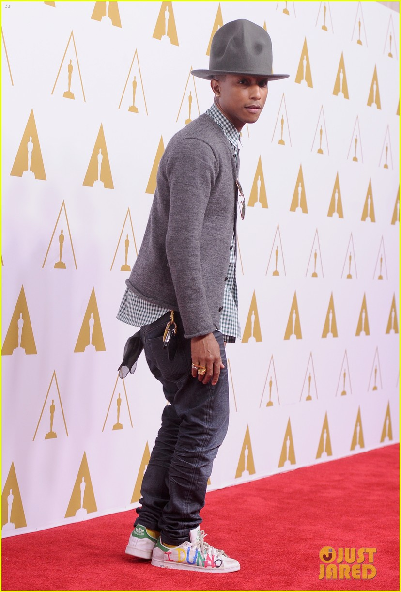 pharrell williams gets new hat for oscars nominees luncheon 033050794