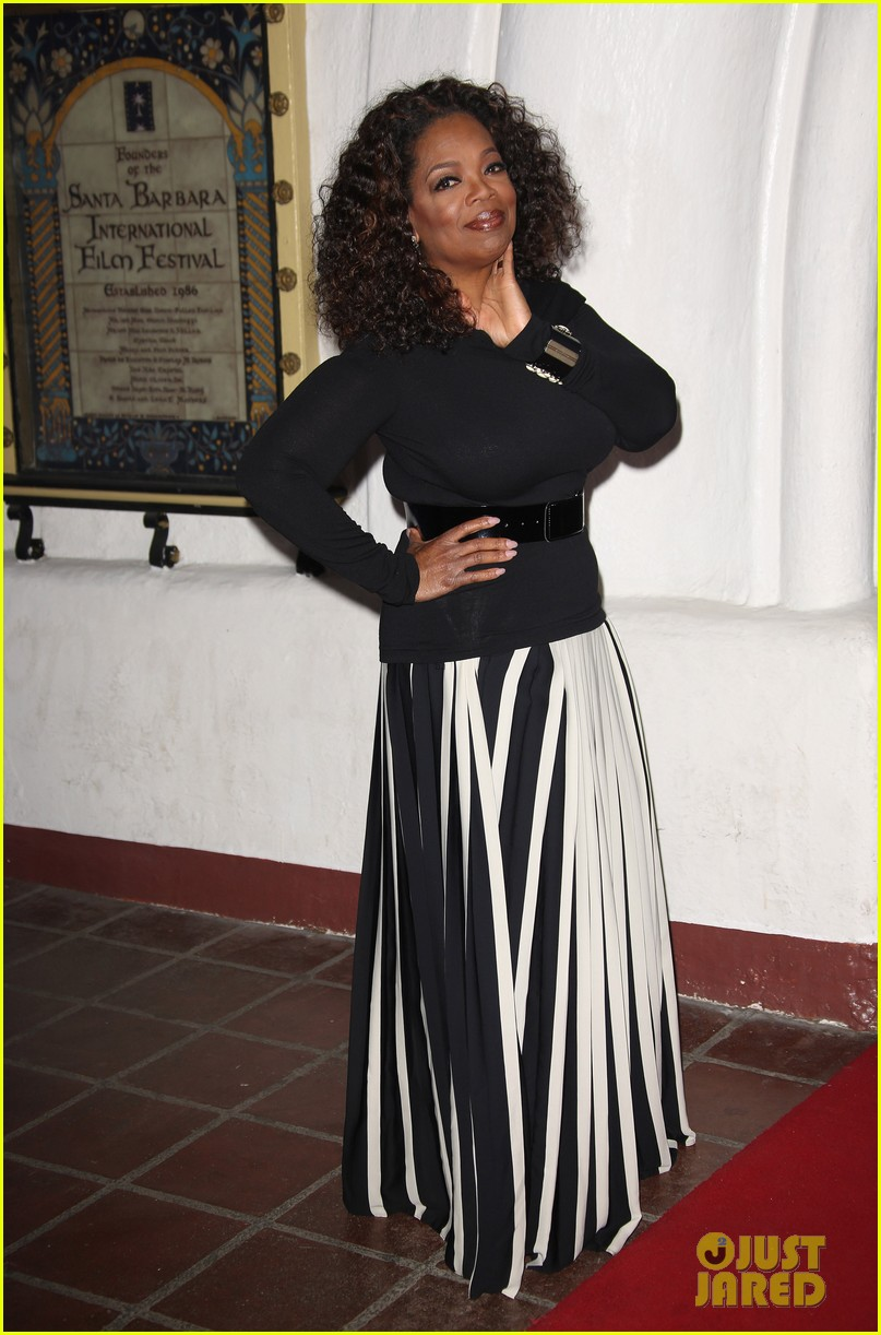 oprah winfrey receives montecito award at sbiff 2014 023048401
