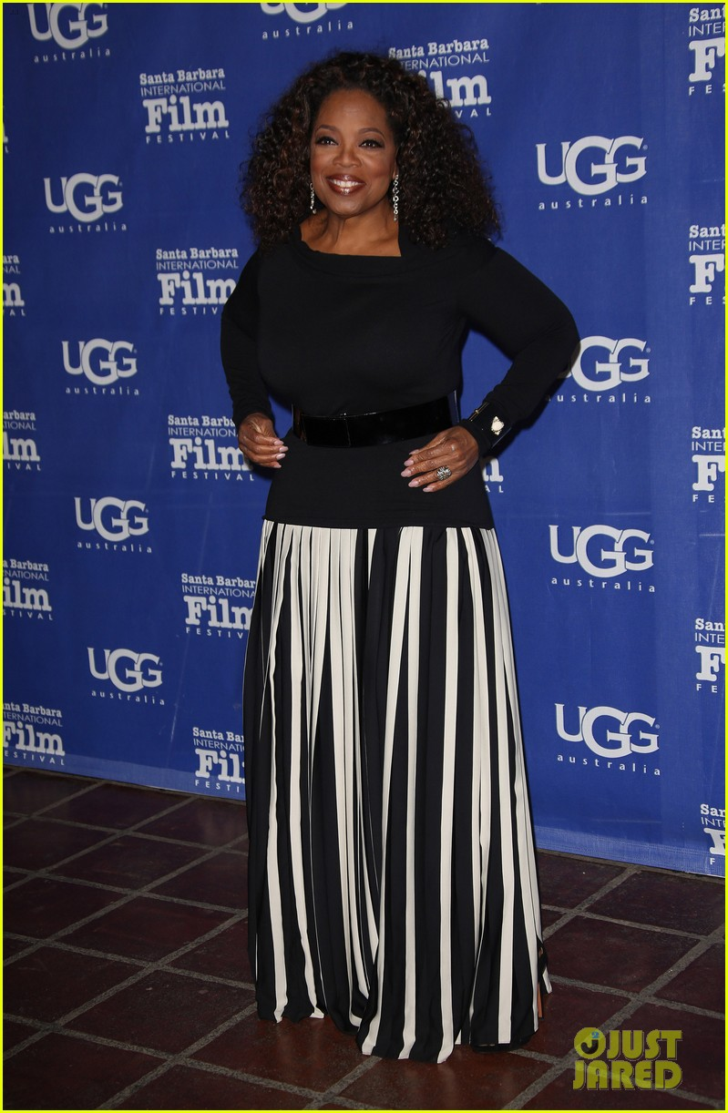 oprah winfrey receives montecito award at sbiff 2014 093048408