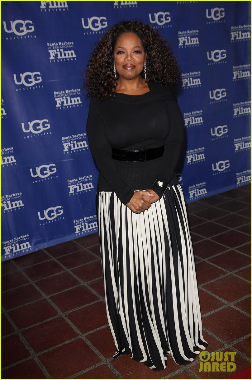 oprah winfrey receives montecito award at sbiff 2014 113048410