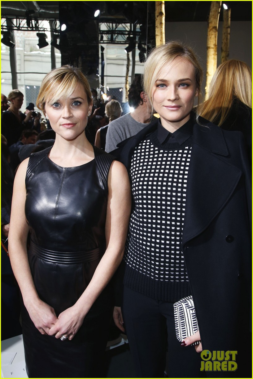 reese witherspoon diane kruger sit front row at boss show 093052317