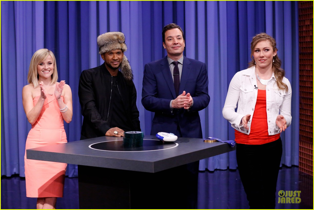 reese witherspoon catch phrase with usher on tonight show 033060038