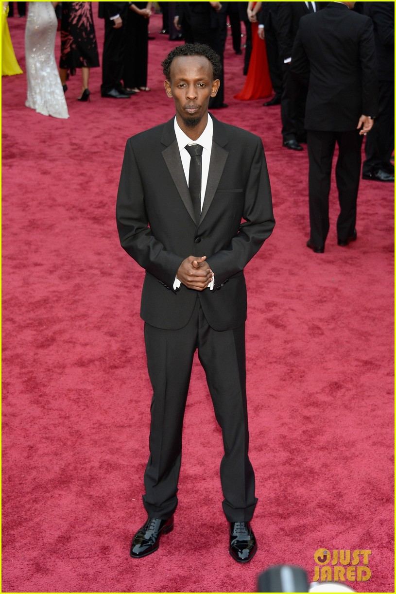 barkhad abdi is the captain now at oscars 2014 red carpet 023063932