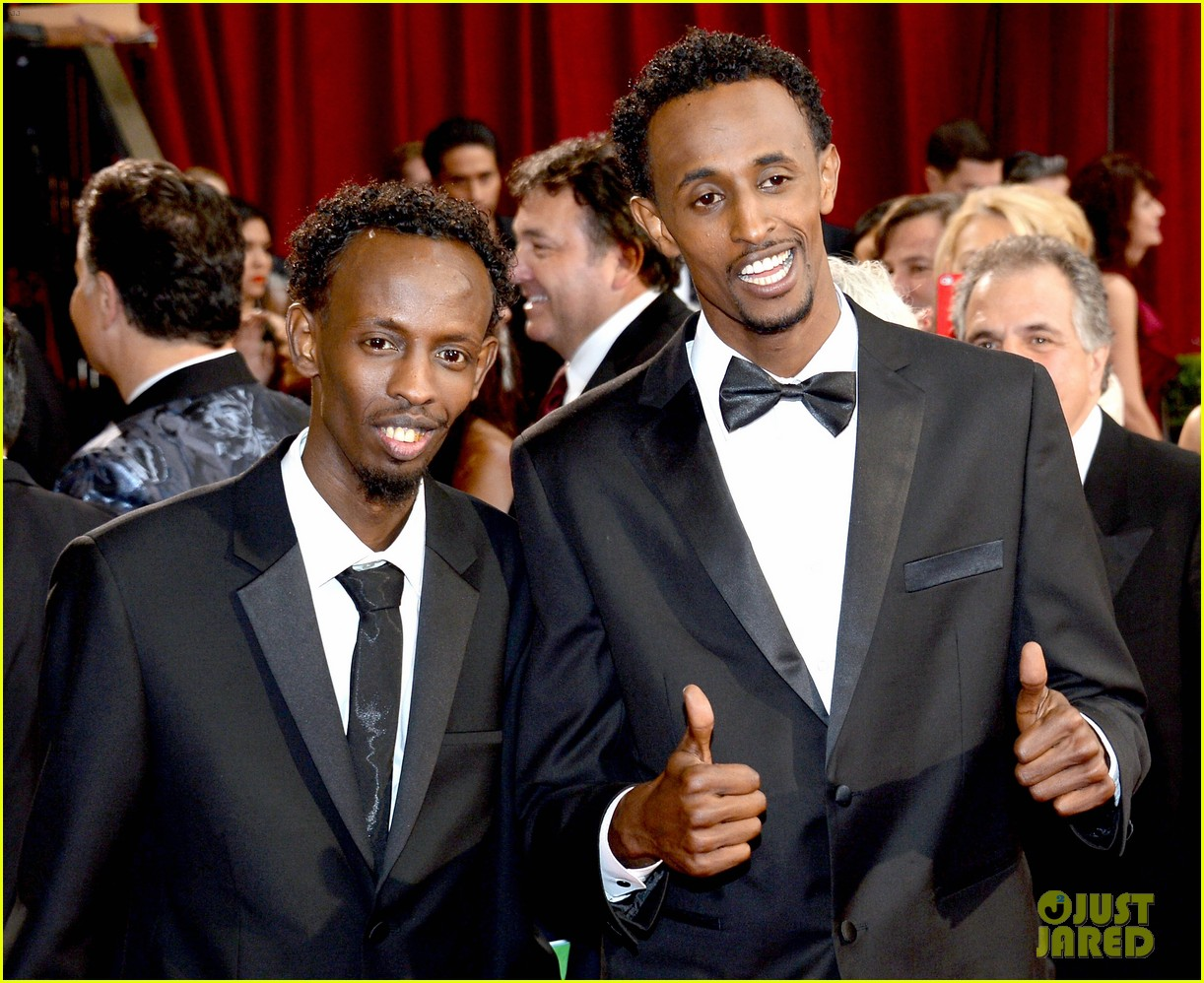 barkhad abdi is the captain now at oscars 2014 red carpet 053063935