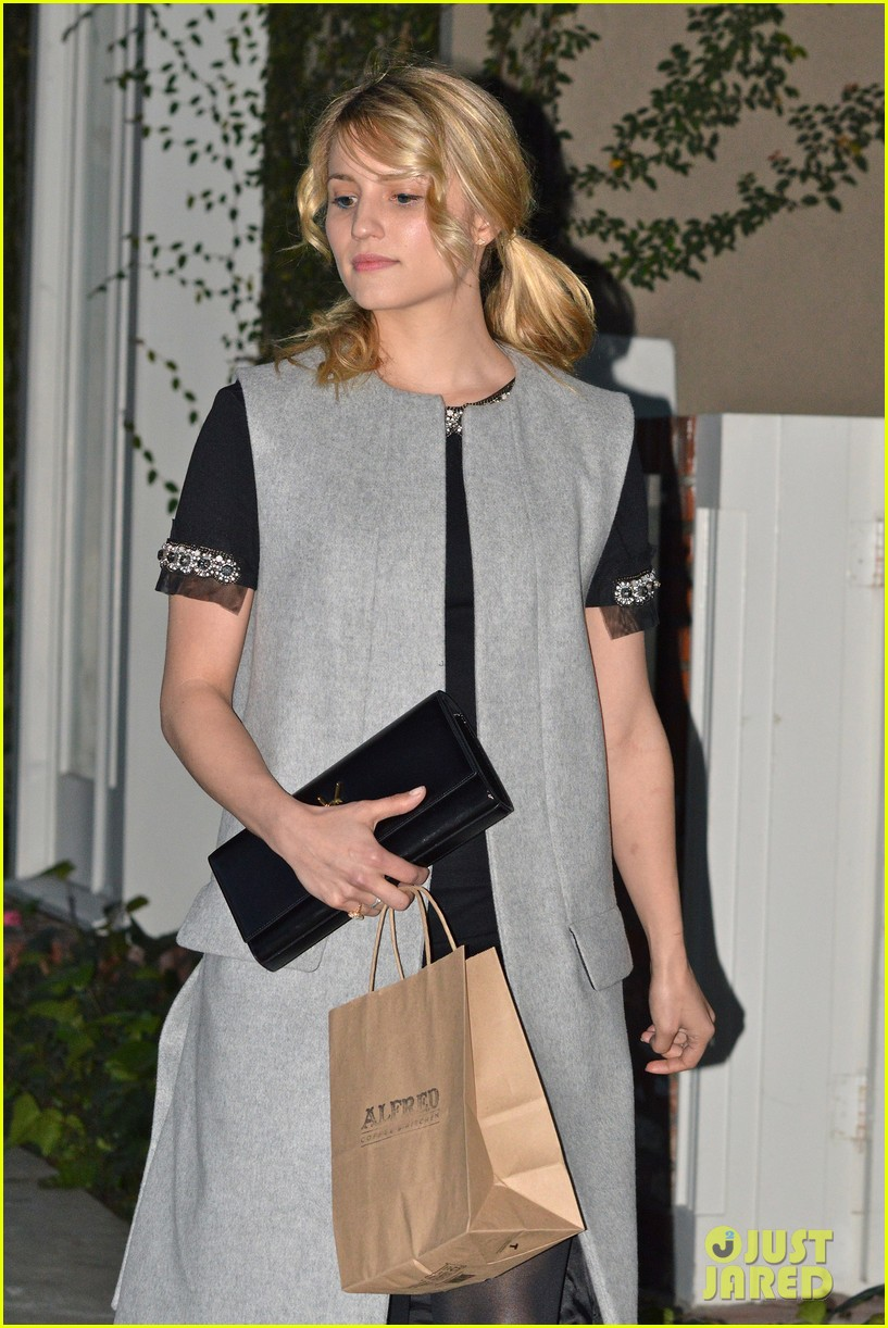 dianna agron bid on my glee sweater for charity 023066890