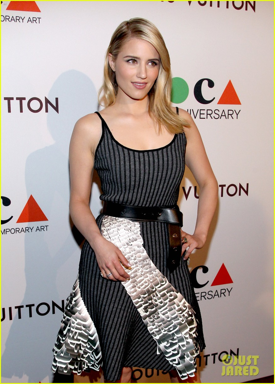 dianna agron isabel lucas moca anniversary gala 043081415