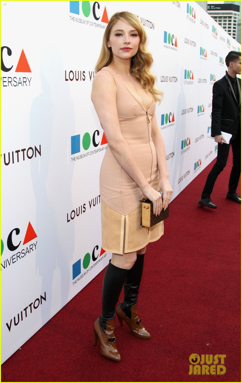 dianna agron isabel lucas moca anniversary gala 06