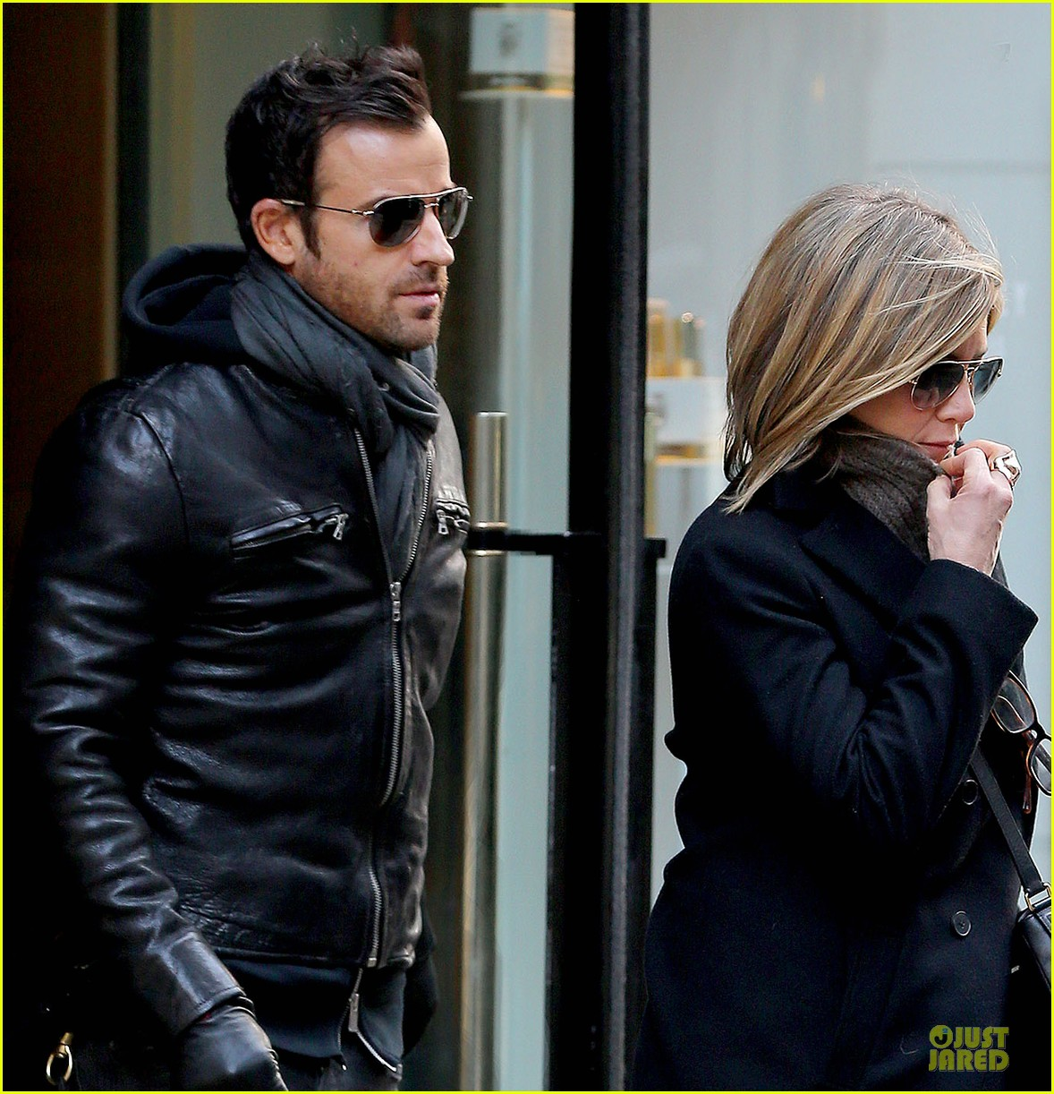 jennifer aniston justin theroux spotted in nyc 043069503