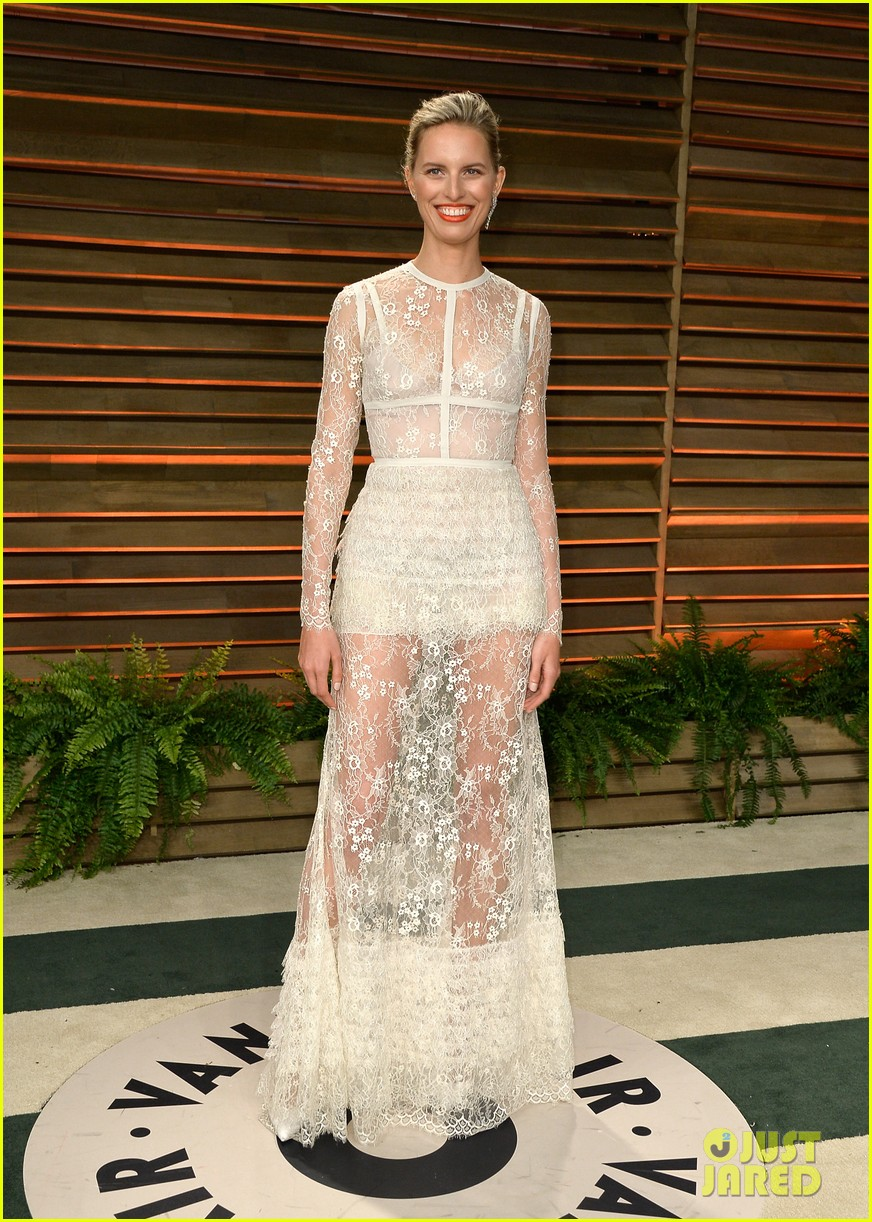 ireland baldwin chanel iman vanity fair oscar party 2014 01