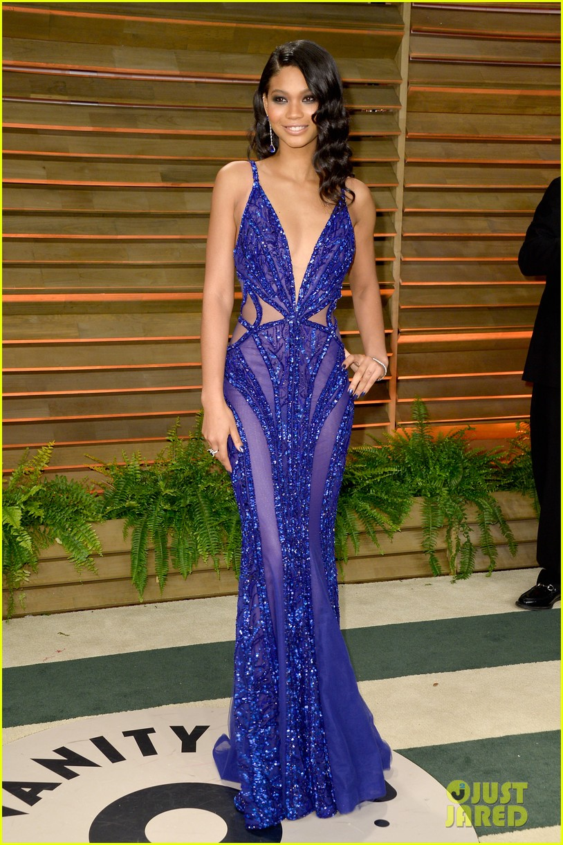 ireland baldwin chanel iman vanity fair oscar party 2014 053064832