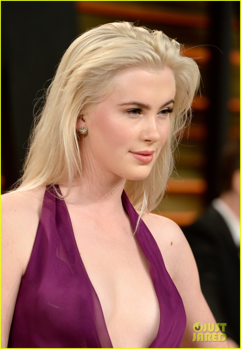 ireland baldwin chanel iman vanity fair oscar party 2014 083064835