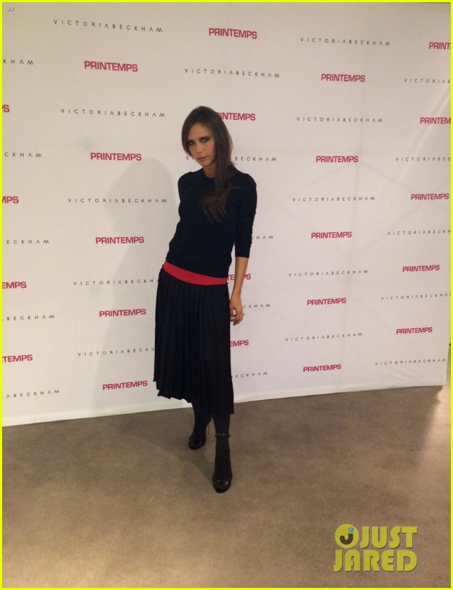 victoria beckham opens first shop in shop at printemps 033063180