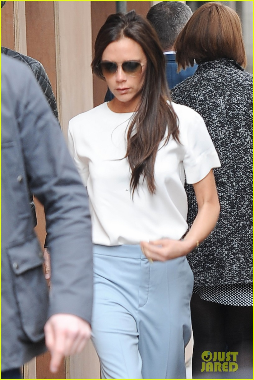 victoria beckham progress on her store david 143077364