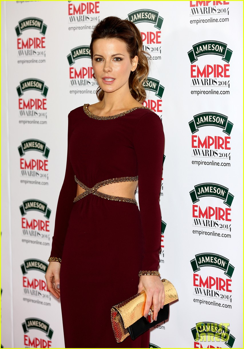 kate beckinsales cutout dress jameson empire awards 2014 053081806
