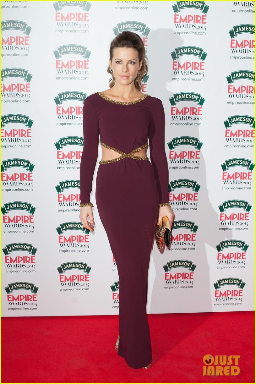 kate beckinsales cutout dress jameson empire awards 2014 063081807