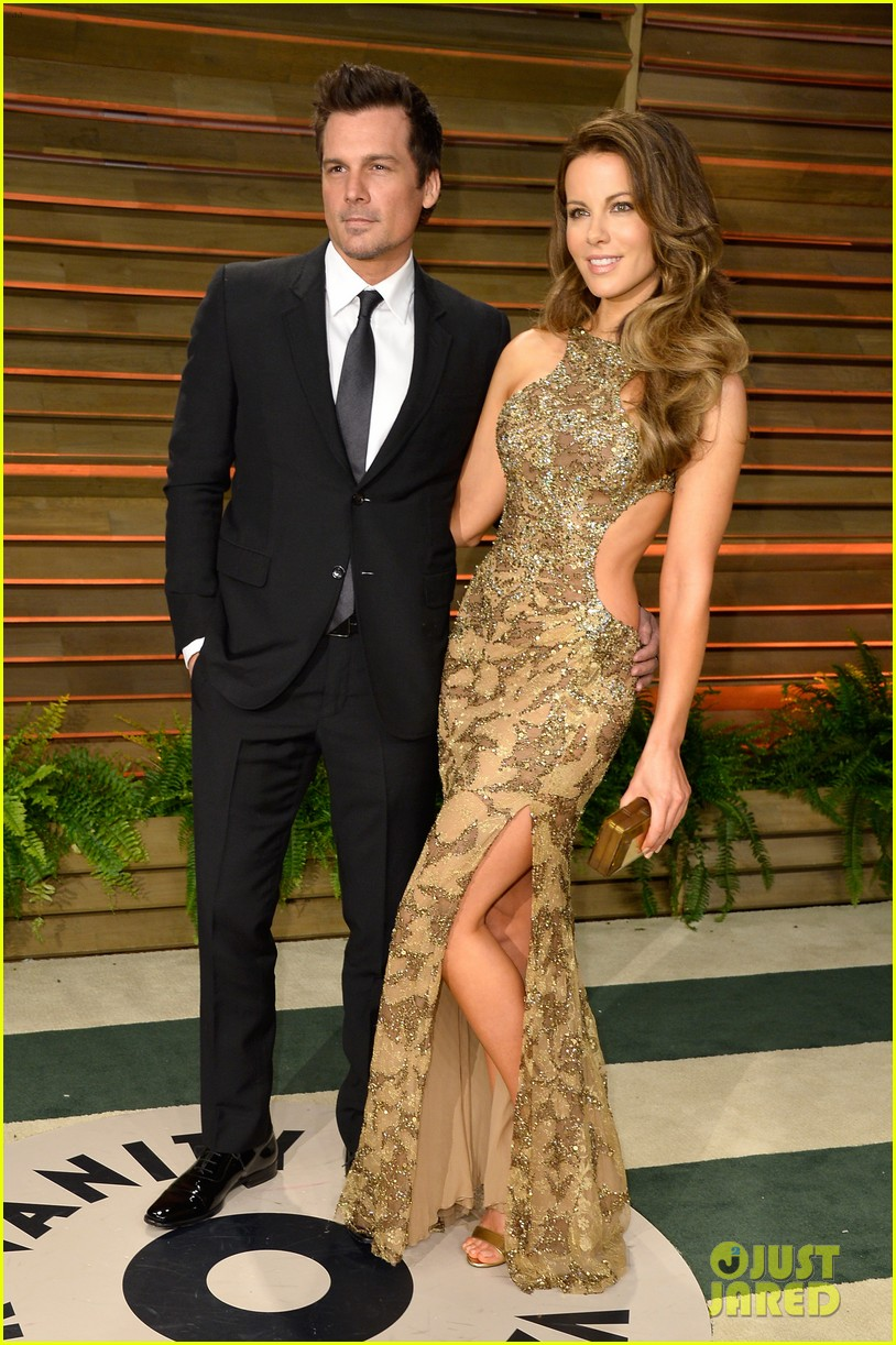 kate beckinsale len wiseman vanity fair oscars party 2014 053064792