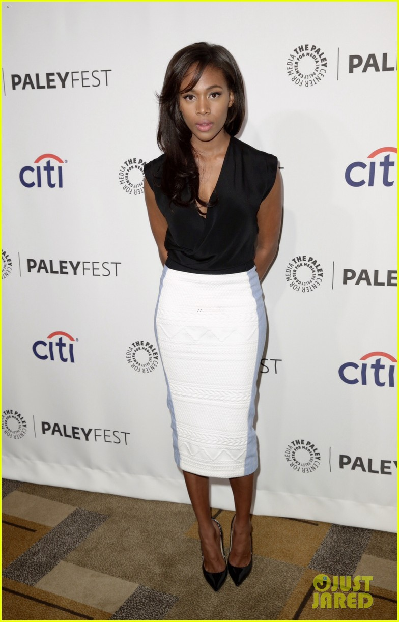 nicole beharie tom mison sleepy hollow paleyfest 233075184